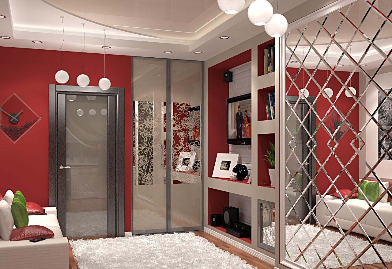Шкафы с зеркалами - шкафы и кухни.